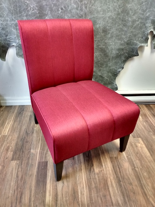 Custom Red Dining Chair Upholstery Toronto