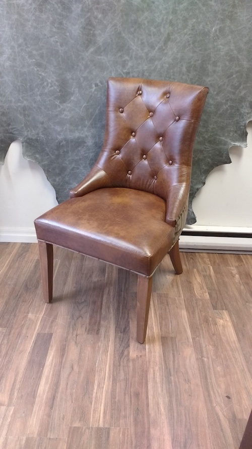 Upholstery Toronto's Designer Leather Office Chair
